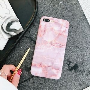 Accessories - *NEW iPhone X/XS/7/8/Plus/Max/XR Pink Marble Case